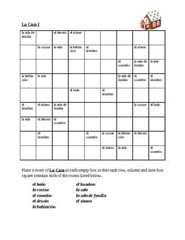 Casa (House in Spanish) Sudoku