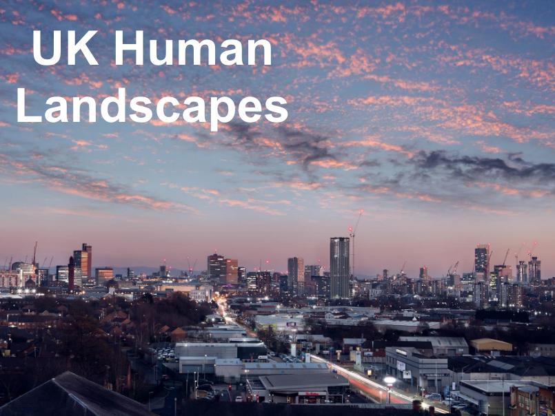 The UK's Evolving Human Landscape