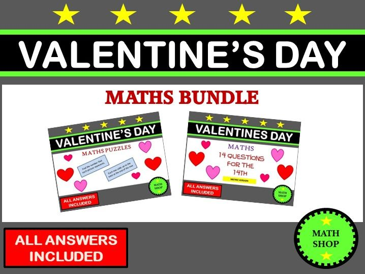 Valentines Day Maths