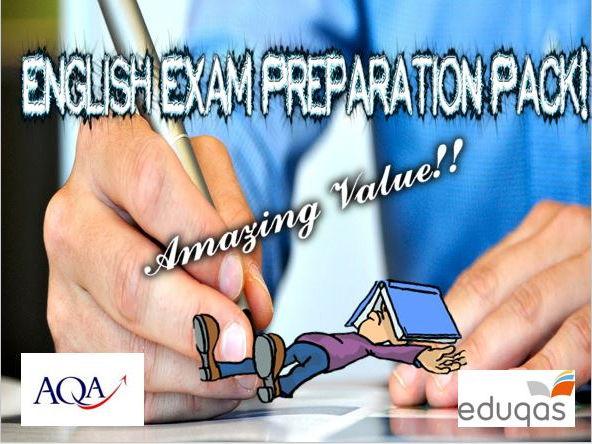 GCSE English Exam Preparation Pack