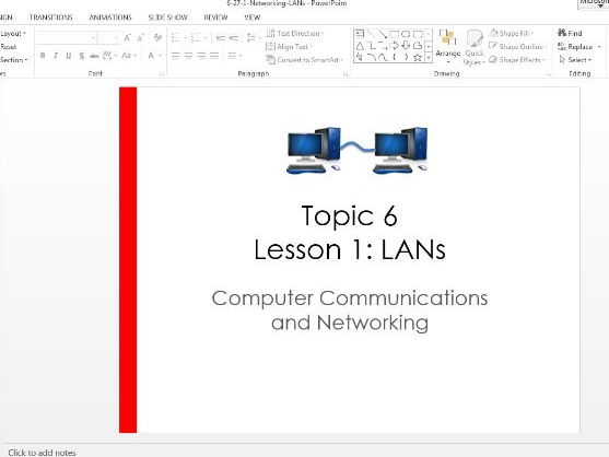 LAN's and networking