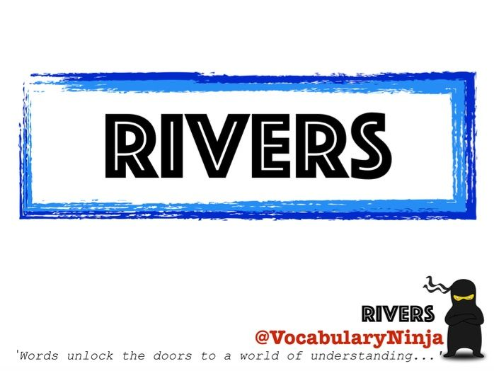 Rivers Topic Vocabulary Pack