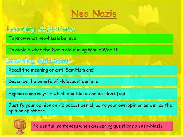 Extremism: Neo Nazis