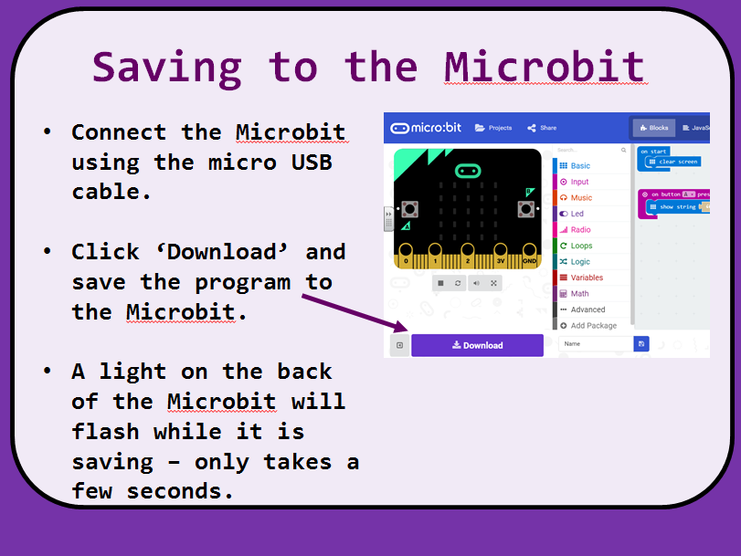 Microbit Introduction Lesson