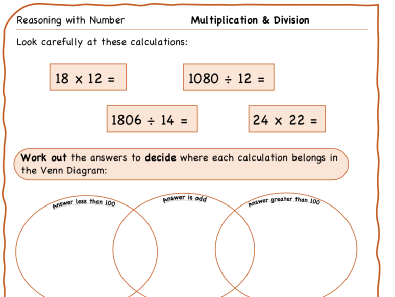 Year 6 Maths: Reasoning with Number