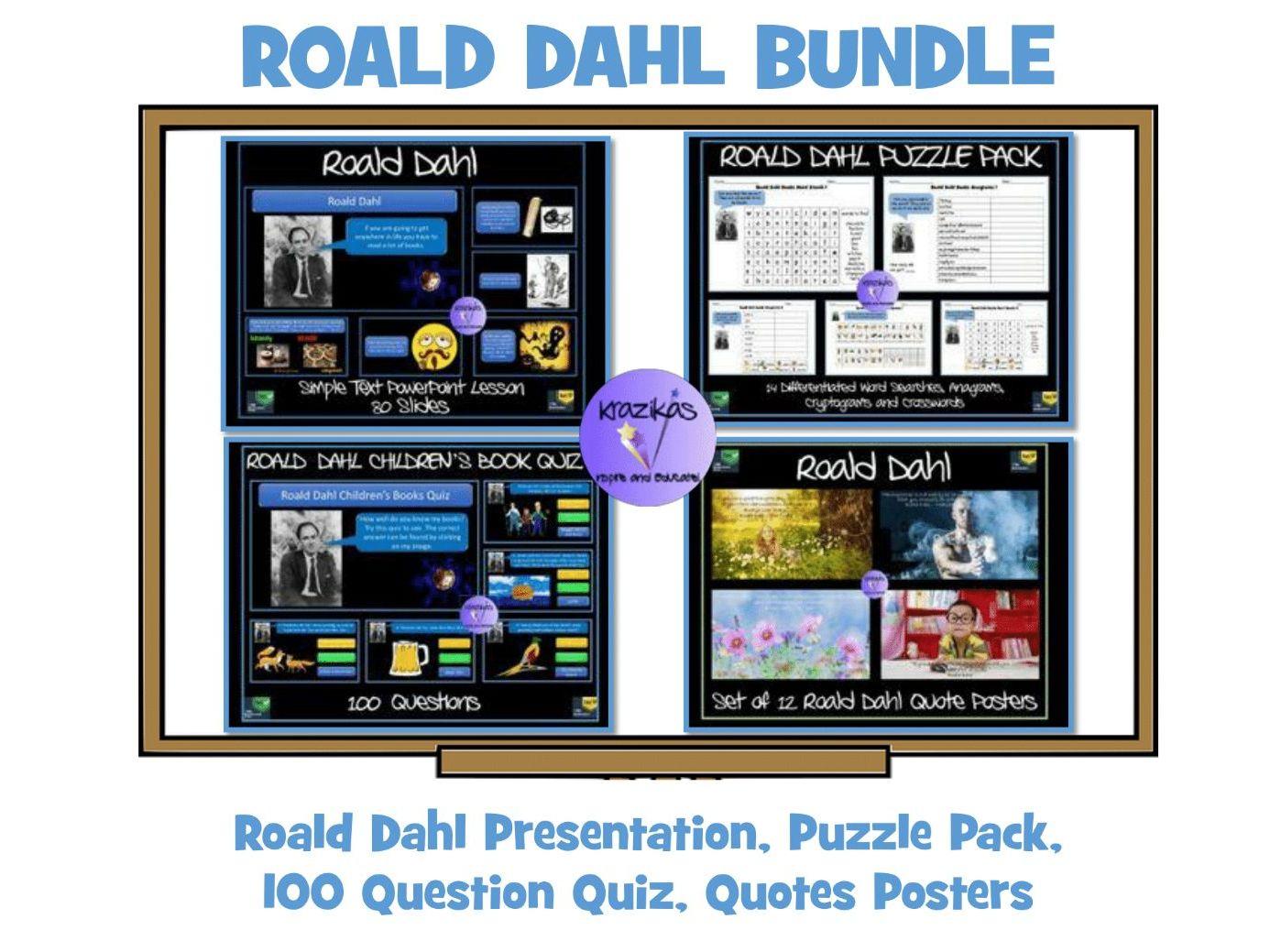Roald Dahl Bundle By Krazikas Teaching Resources Tes