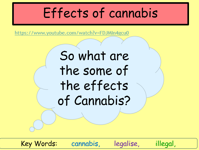 Cannabis and the effects
