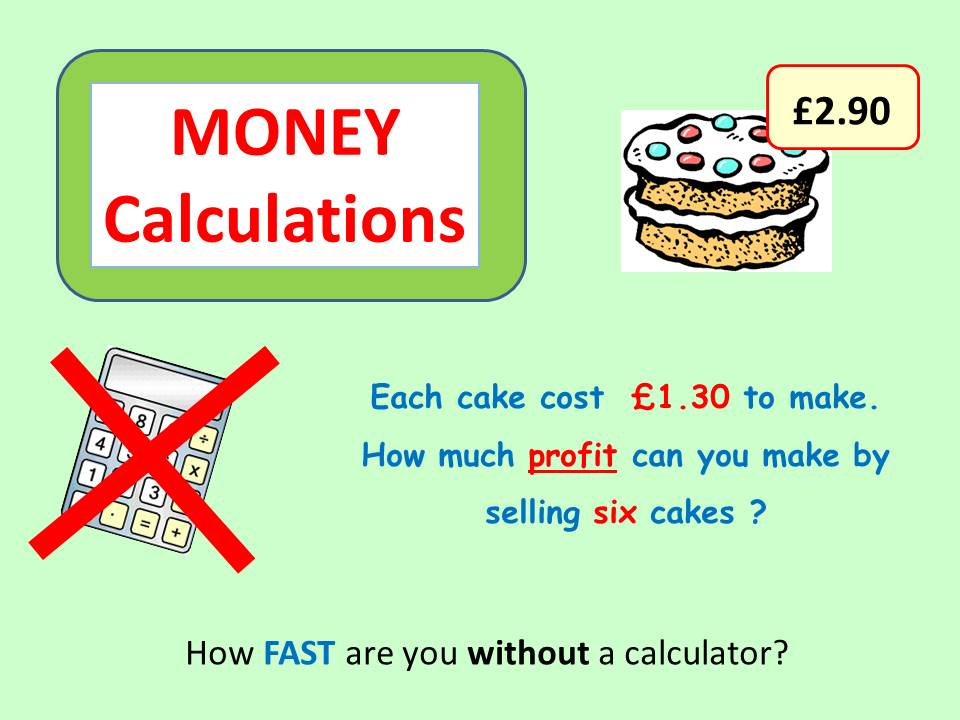 Money Calculations 2
