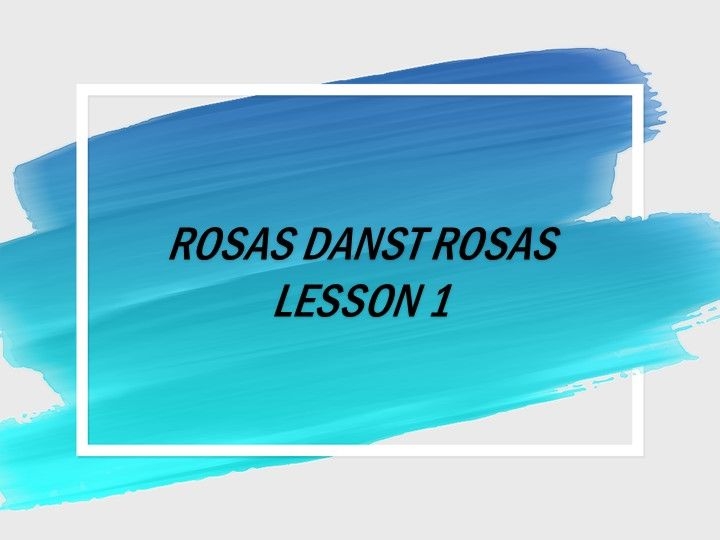 KS3 Dance Rosas Danst Rosas - Unit of Work