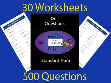 Drill Questions : Standard Form
