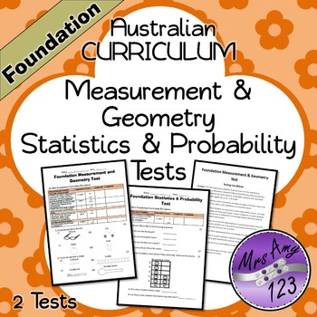 Foundation Measurement & Geometry and Statistics & Probability Tests- ACARA