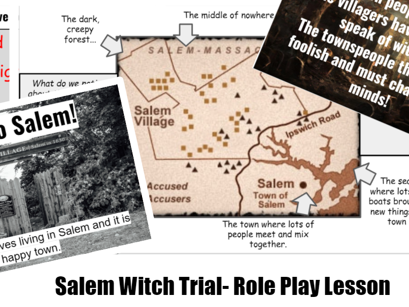 Salem Witch Trial- Role Play Lesson