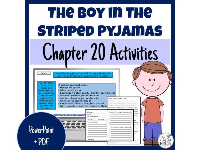 The Boy in the Striped Pyjamas     Chapter 20 Activities