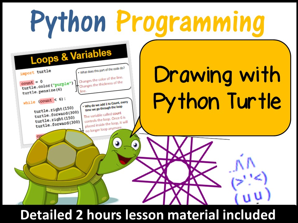 Python Programming - Drawing with Python Turtle