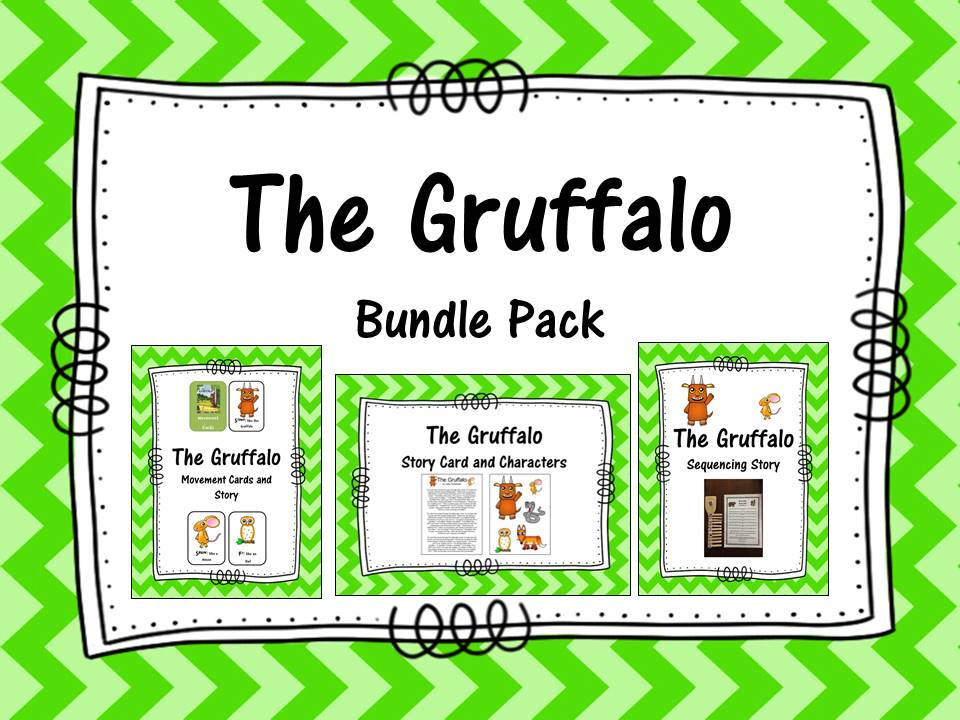 The Gruffalo Bundle Pack