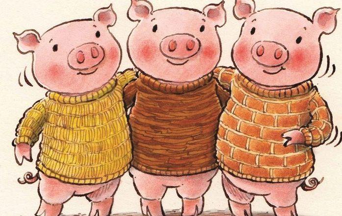 Three Little Pigs Maths EYFS