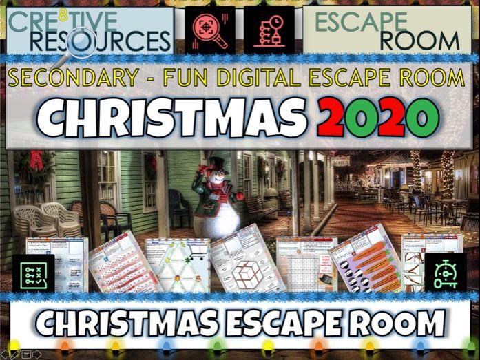 Christmas Escape Room 2020
