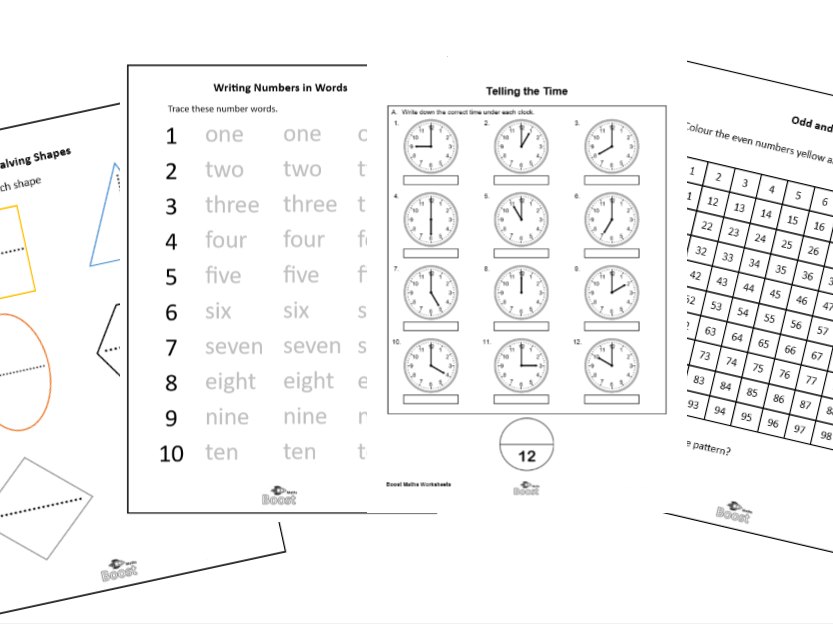 Year 1 worksheets for the classroom or for tuition (over 100 worksheets) BUNDLE