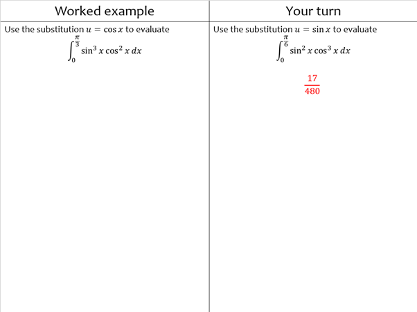 Example-problem pairs A Level Maths + FM