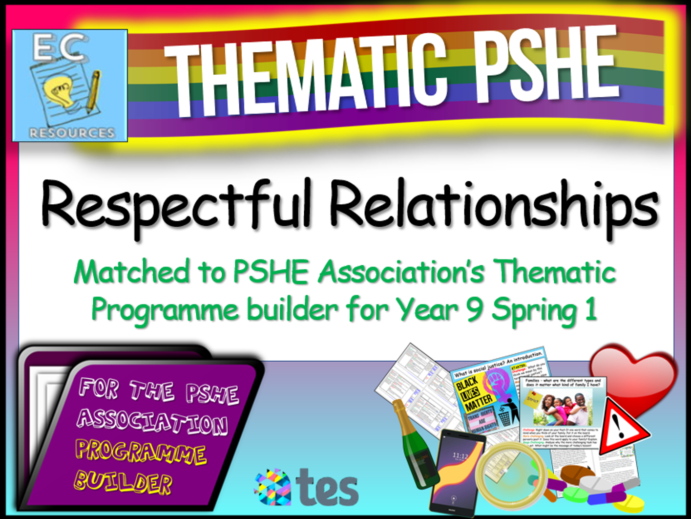 Respectful Relationships Thematic PSHE