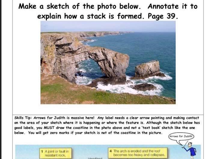 UK Physical Landscapes Flashcards