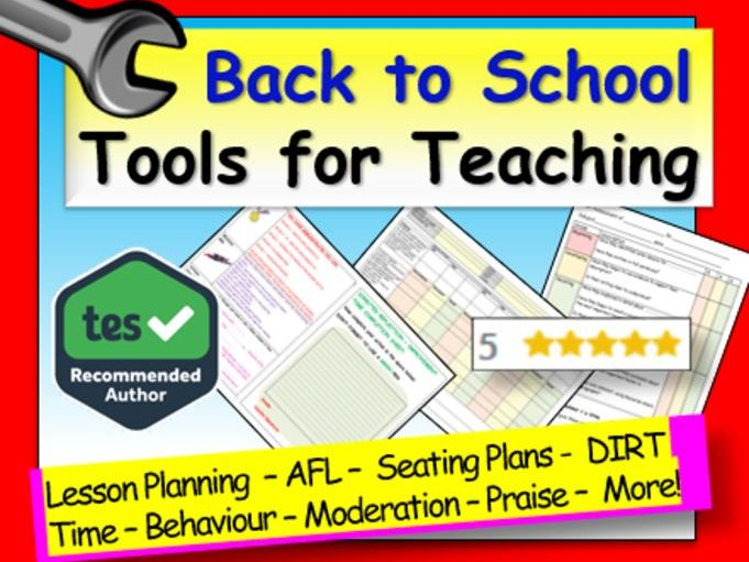 Back to School: Back to School Tools