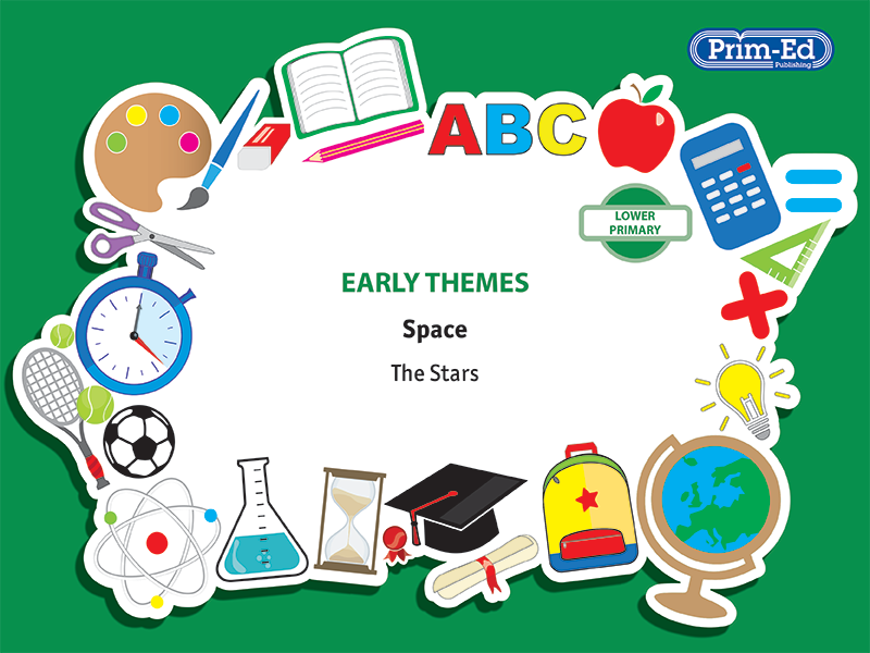 EARLY THEMES: SPACE - THE STARS EBOOK UNIT (Reception, Y1/P2, Y2/P3)
