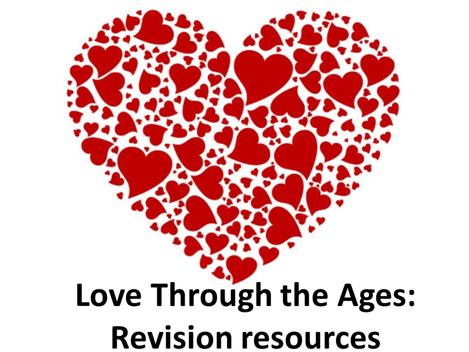 AQA Love Through the Ages Literature timeline: features of love across texts and time.