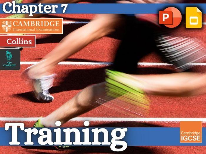 IGCSE / GCSE  PE - TRAINING - Health, Fitness and Training - full teaching resource