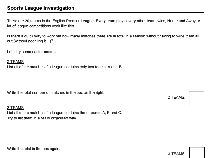 Sports Leagues Data Handling Investigation