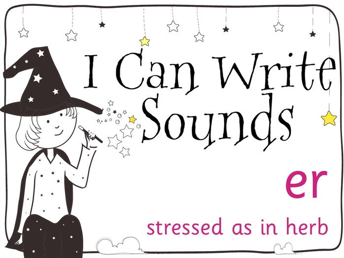Magic Sounds Phonics Set 27 stressed er (as in herb)