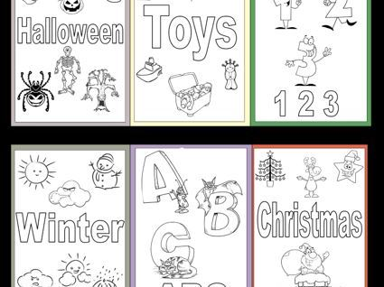 Posters to Colour for Early Learners