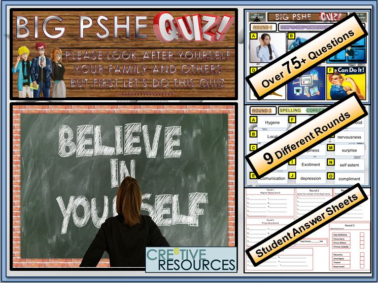 What is PSHE Quiz