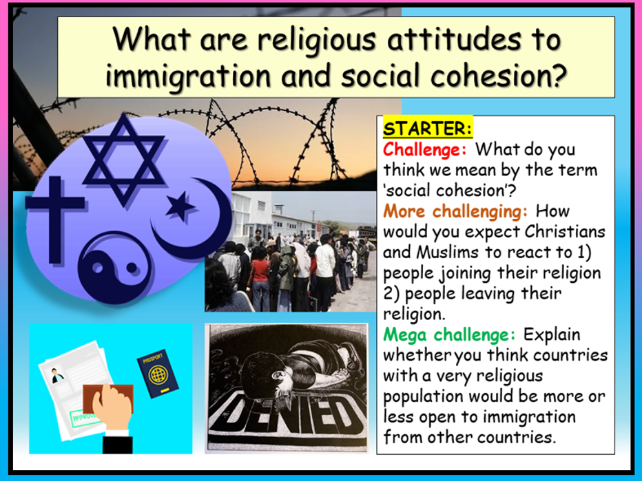 Religion + Community Cohesion