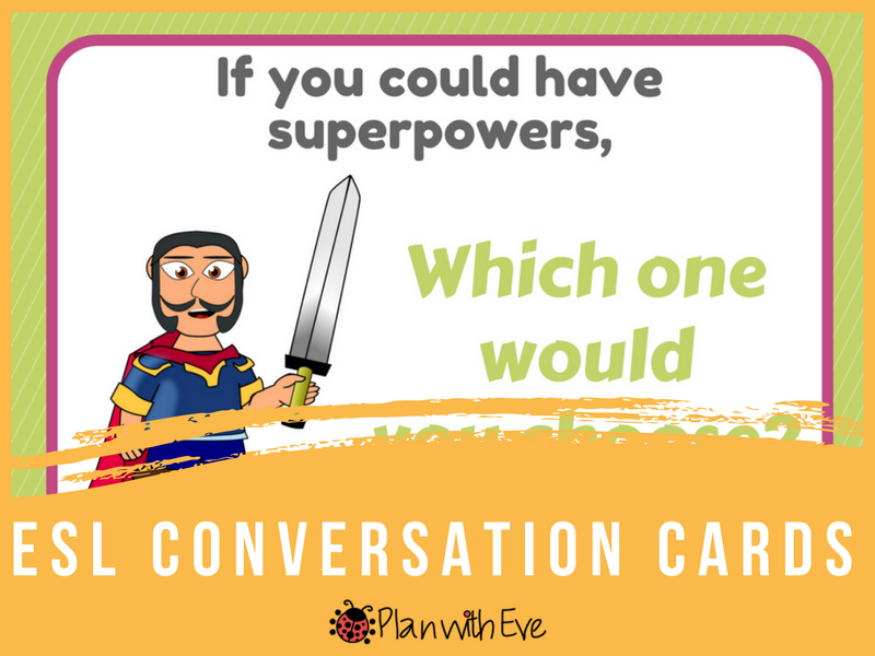 ESL Conversation: Conditional II - Have fun with these imaginative conversation cards!