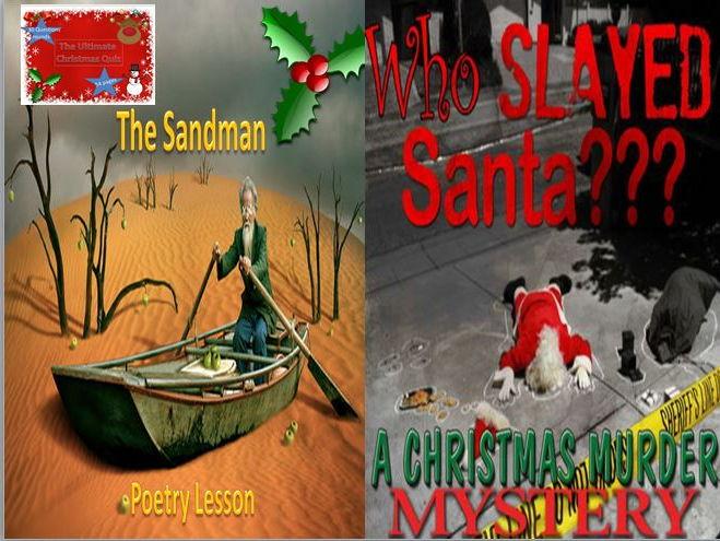 The Sandman Poetry Lesson and Who Slayed Santa + Christmas Quiz