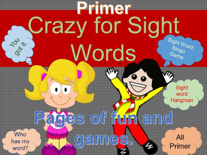 Sight Word Crazy Primer