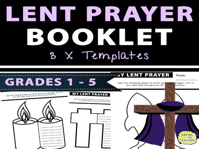 My Lent Prayer Booklet
