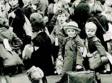 WW2 Evacuation Lesson