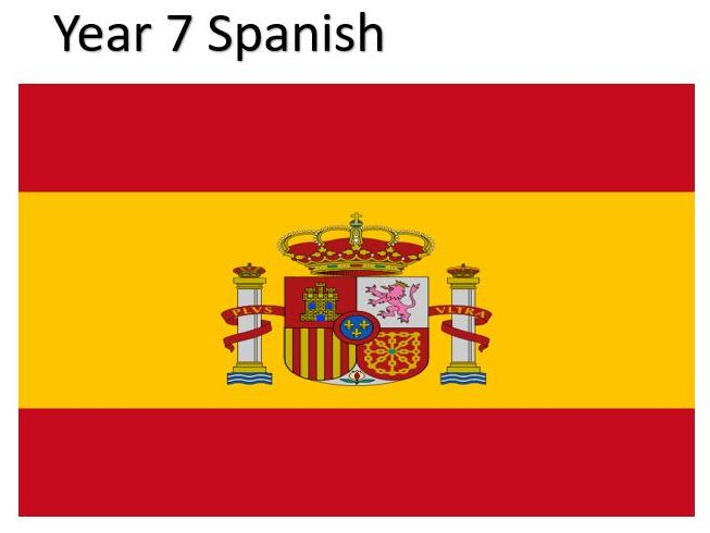 Year 7 Spanish Full Course (suitable for KS2)