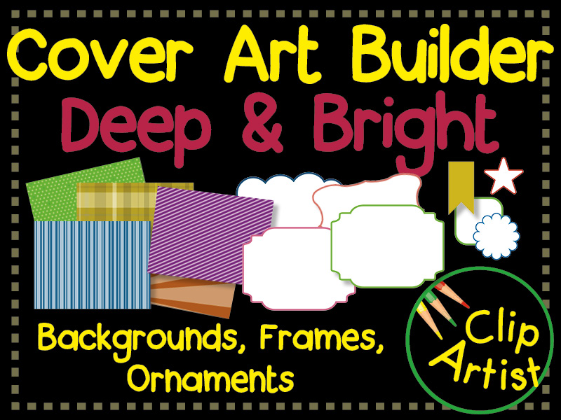 Cover Builder for Authors and Presentations - Deep Bright Colours
