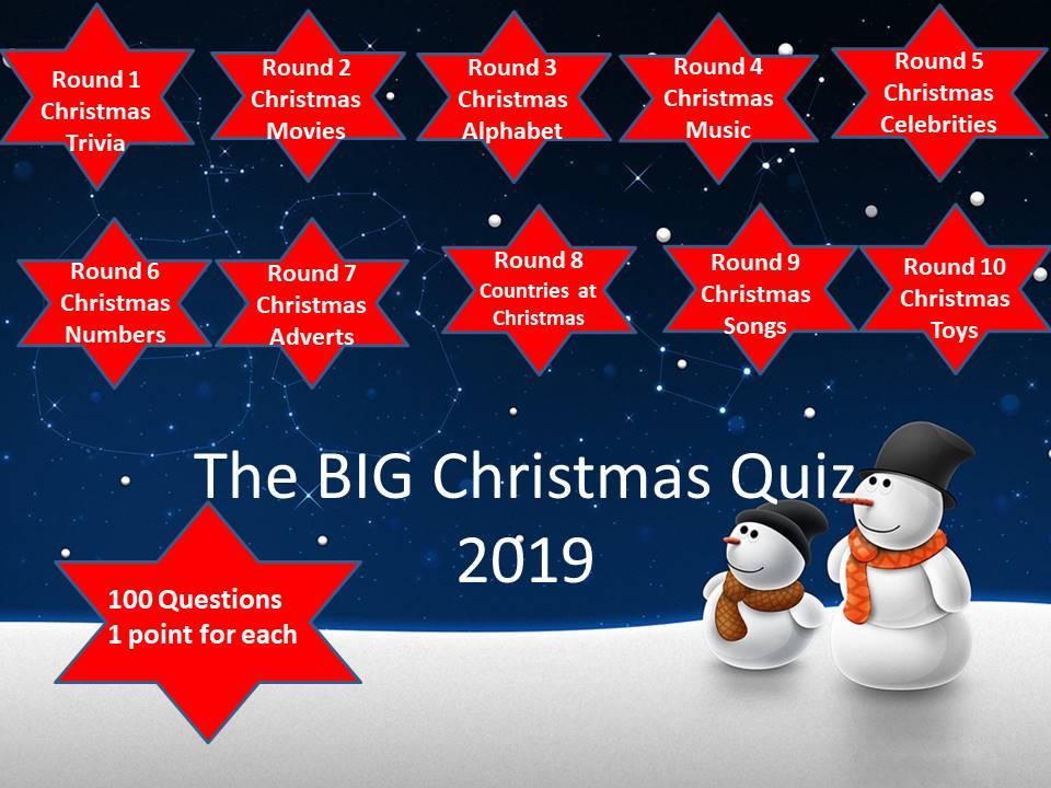 The BIG Christmas Quiz 2019
