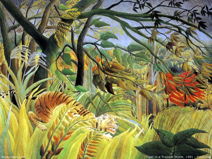 Image result for henri rousseau ARTIST