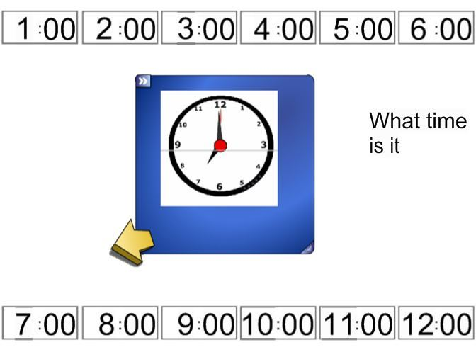 Teaching Time - o'clock