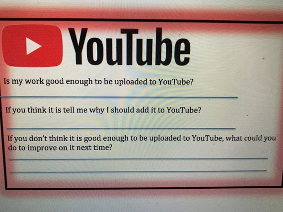 YouTube assessment