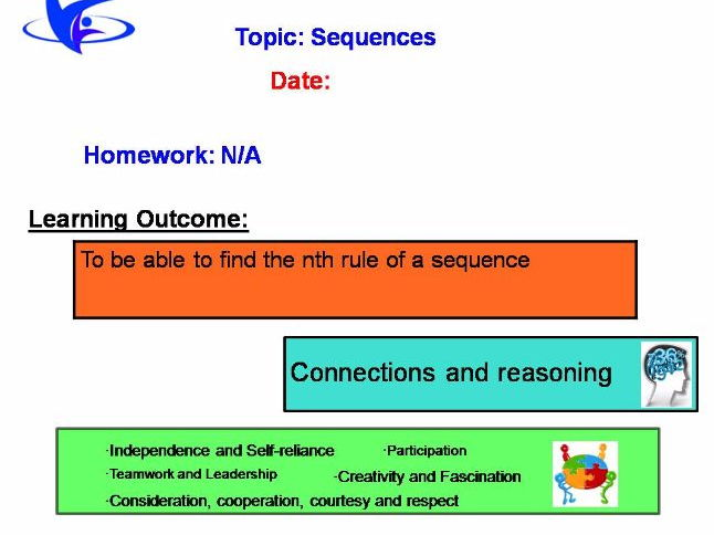 Sequences nth-term