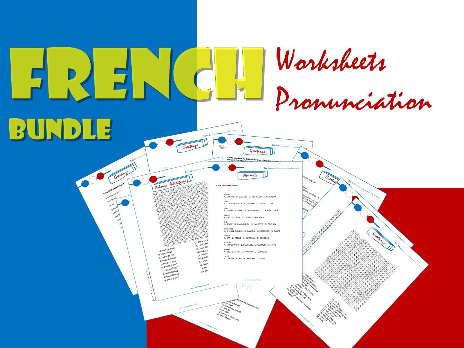 French Bundle for KS2/3