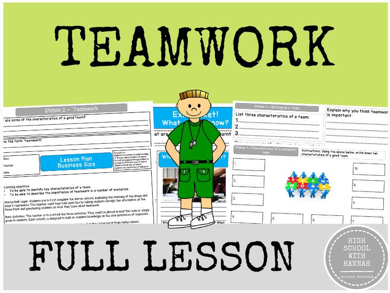 Teamwork - Full Lesson