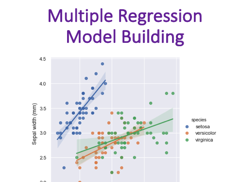 Multiple Regression Model Building (Statistics)