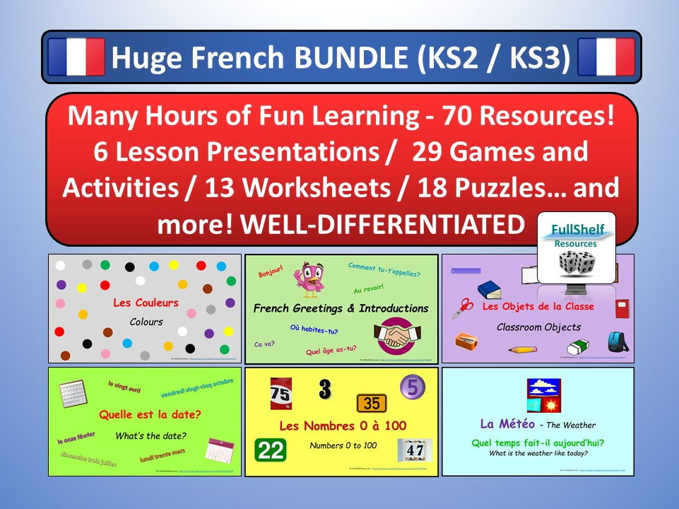French Basics KS2 / KS3